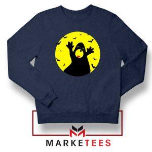 Halloween Time Navy Blue Sweatshirt