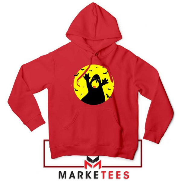 Halloween Time Red Hoodie