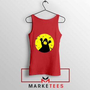 Halloween Time Red Tank Top