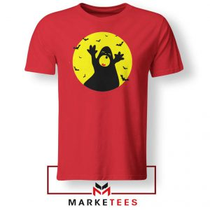 Halloween Time Red Tshirt