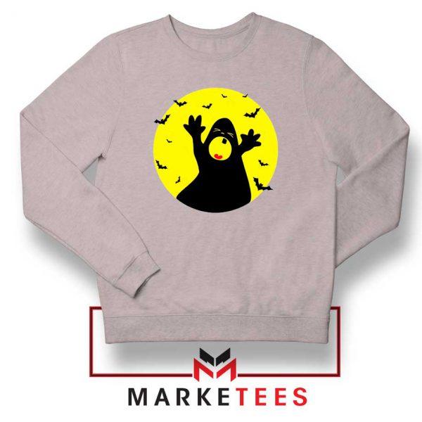 Halloween Time Sport Grey Sweatshirt
