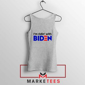 I am Ridin with Biden Sport Grey Tank Top