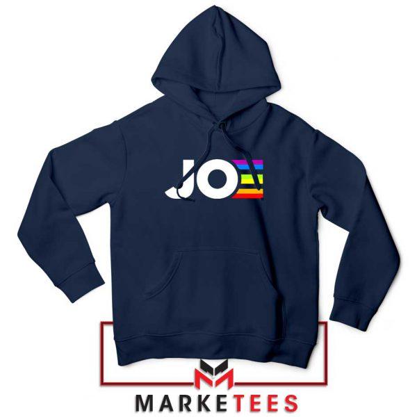 Joe Kamala Rainbow Navy Blue Hoodie