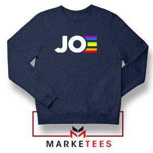 Joe Kamala Rainbow Navy Blue Sweatshirt