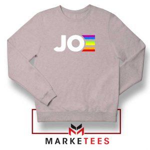 Joe Kamala Rainbow Sport Grey Sweatshirt