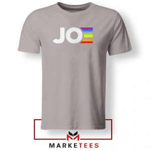 Joe Kamala Rainbow Sport Grey Tshirt