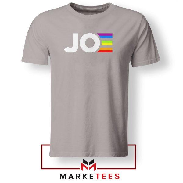 Joe Kamala Rainbow Sport Grey Tshirt