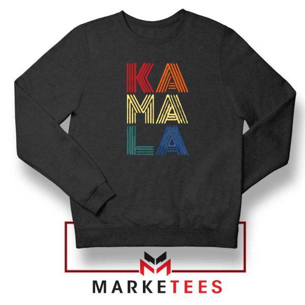 Kamala Harris 2020 Black Sweatshirt