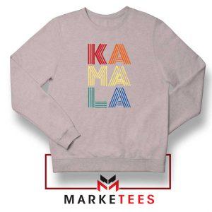 Kamala Harris 2020 Sport Grey Sweatshirt