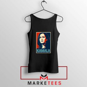 Kamala Harris Poster Black Tank Top