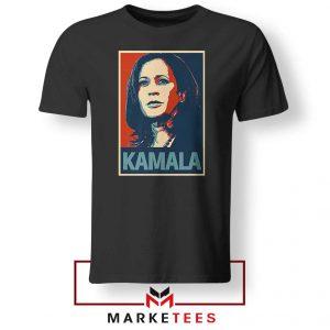 Kamala Harris Poster Black Tshirt