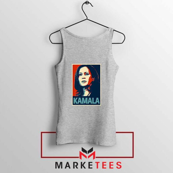 Kamala Harris Poster Sport Grey Tank Top