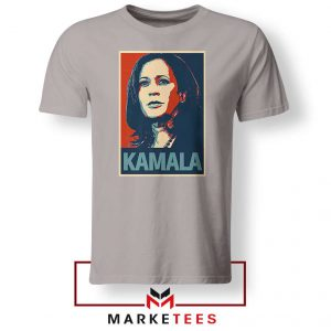 Kamala Harris Poster Sport Grey Tshirt