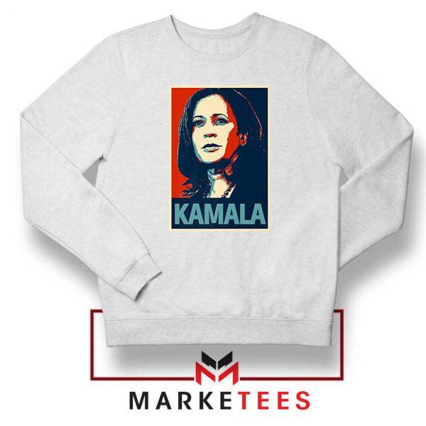 Kamala Harris Poster Sweatshirt