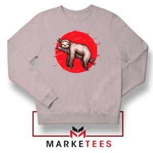 Lazy Sloth Sport Grey Sweatshirt