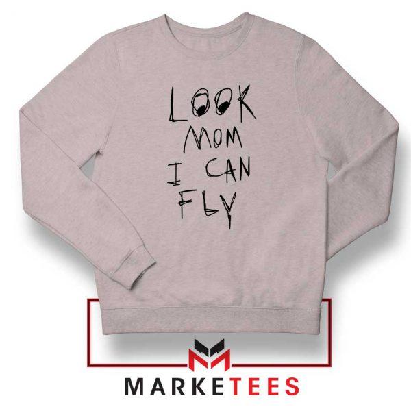 Look Mom I Can Fly Sport Grey Sweatshirt