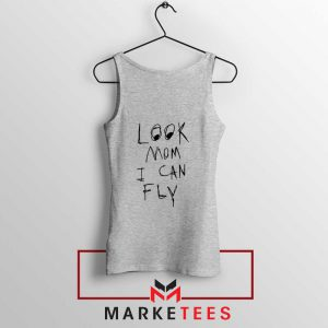 Look Mom I Can Fly Sport Grey Tank Top