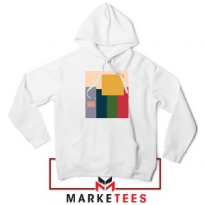 Me And The Boys Art White Hoodie