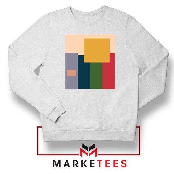 Me And The Boys Art White Sweatshirt
