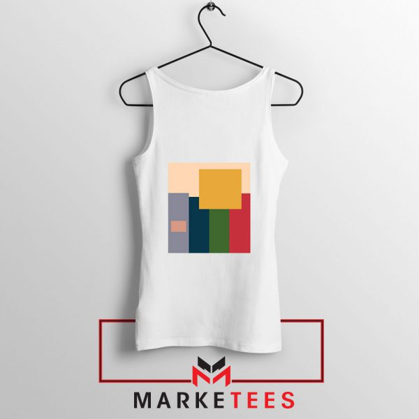 Me And The Boys Art White Tank Top