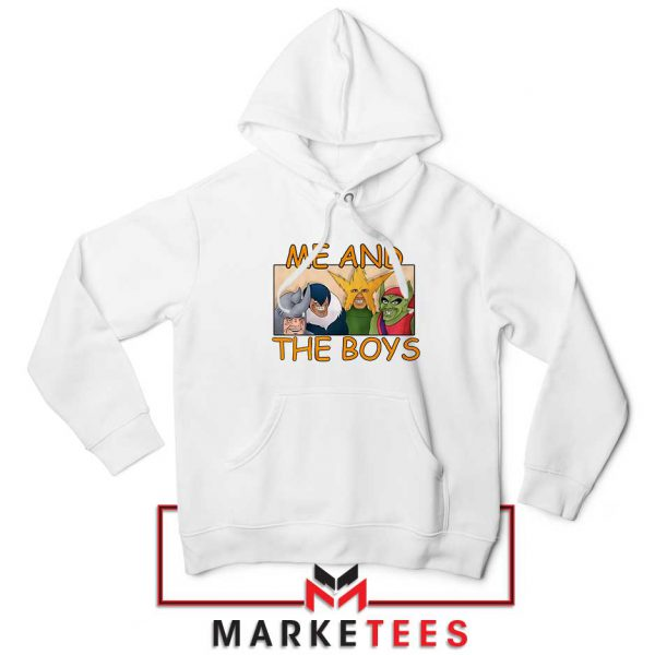 Me And The Boys Graphic Hoodie