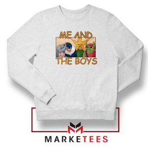 Me And The Boys Graphic Sweatshirt