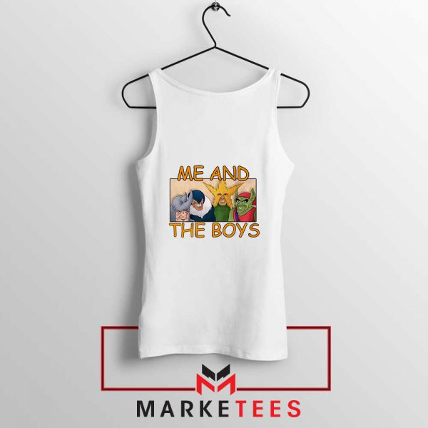Me And The Boys Graphic Tank Top