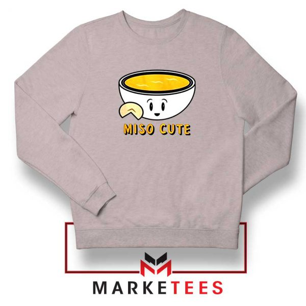 Miso Cute Sport Grey Sweatshirt