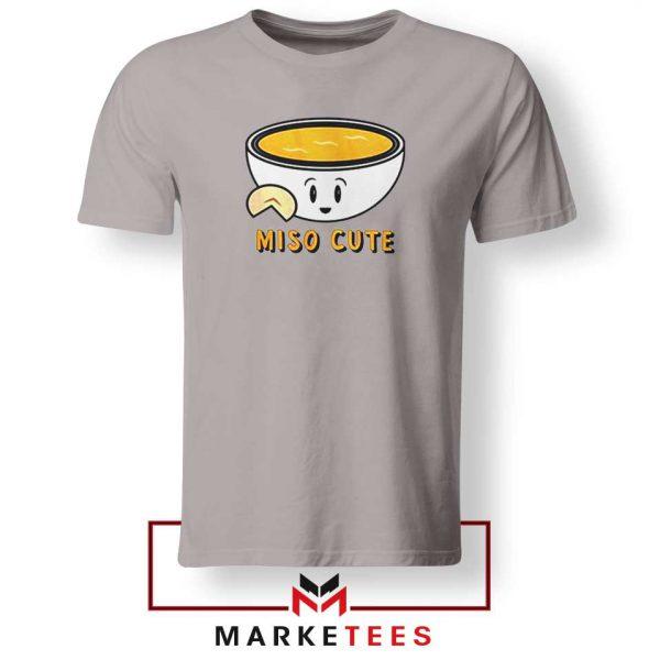 Miso Cute Sport Grey Tshirt