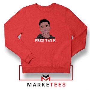 Rapper Free Tay K Sweatshirt