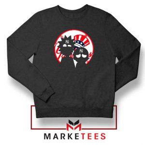 Rick and Morty New York Yankees Sweatshirt
