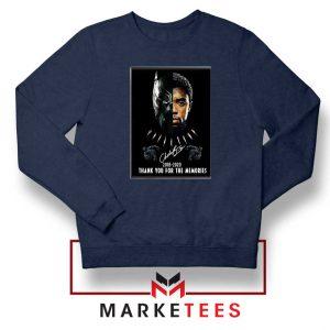 Rip Chadwick Boseman Navy Blue Sweatshirt