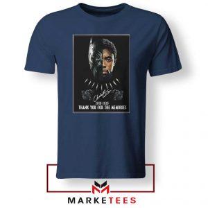 Rip Chadwick Boseman Navy Blue Tshirt