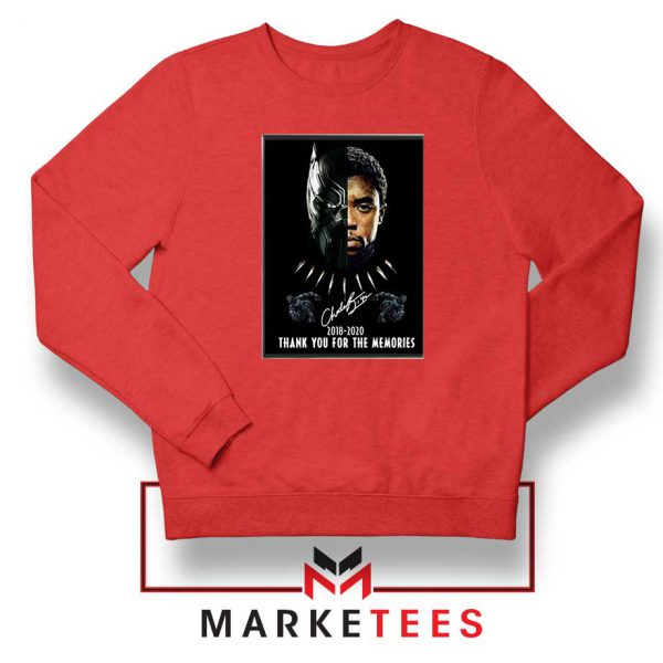 Rip Chadwick Boseman Red Sweatshirt