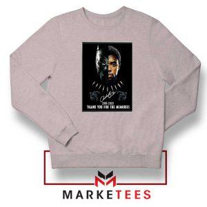 Rip Chadwick Boseman Sport Grey Sweatshirt