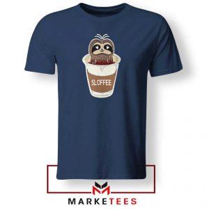 Sloffee Pocket Navy Blue Tshirt