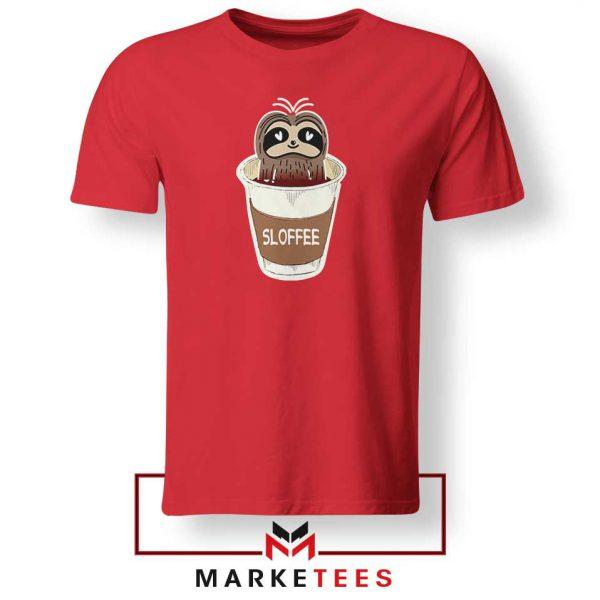 Sloffee Pocket Red Tshirt