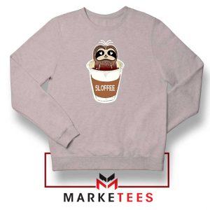 Sloffee Pocket Sport Grey Sweatshirt
