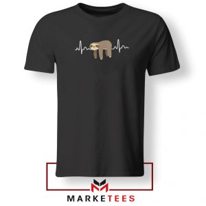 Sloth Lazy Heartbeat Tshirt