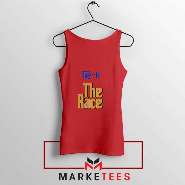 Tay K Debut Single Red Tank Top