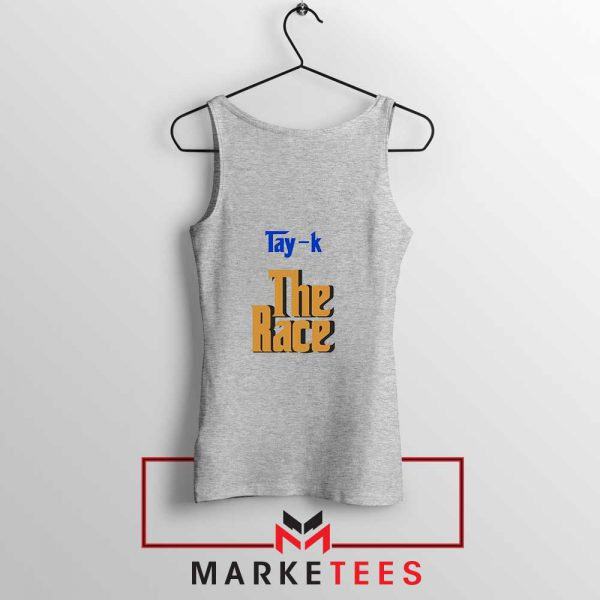 Tay K Debut Single Sport Grey Tank Top