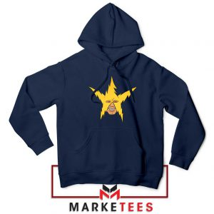 The Electro Meme Navy Blue Hoodie