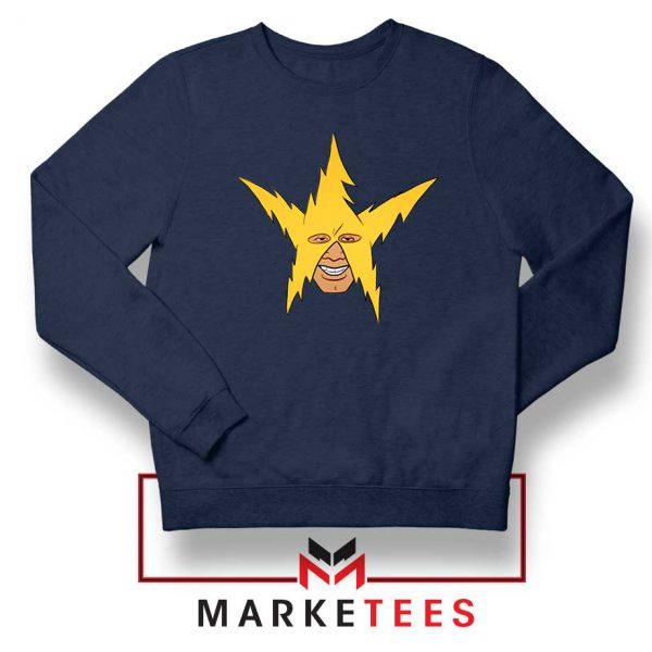 The Electro Meme Navy Blue Sweatshirt