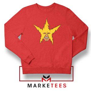 The Electro Meme Red Sweatshirt