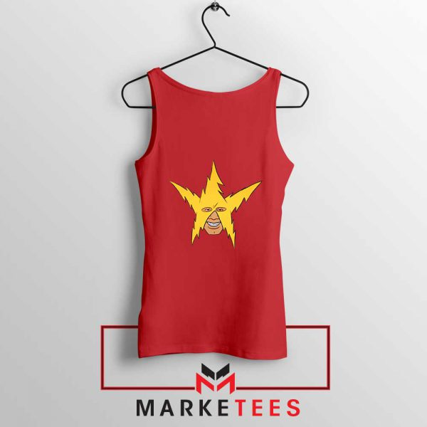 The Electro Meme Red Tank Top