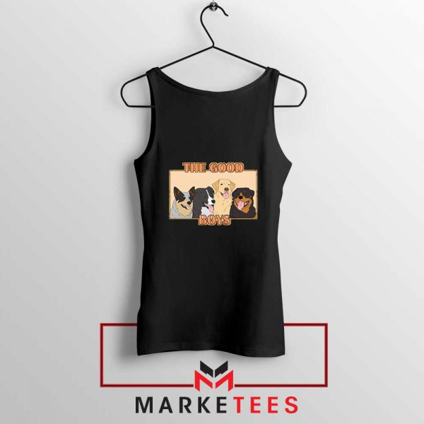 The Good Boys Black Tank Top