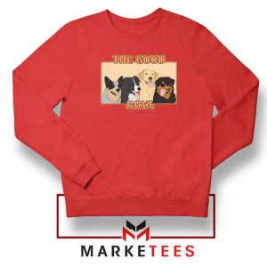The Good Boys Red Sweatshirt