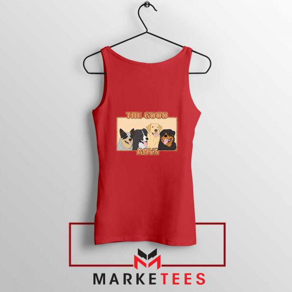 The Good Boys Red Tank Top