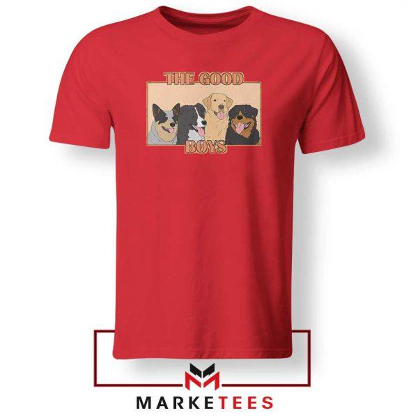 The Good Boys Red Tshirt
