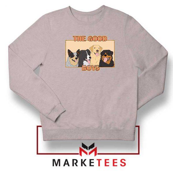 The Good Boys Sport Grey Sweatshirt